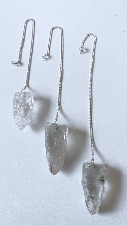 Bergkristall rå, pendel