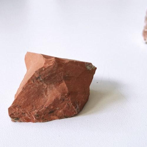 Brecca Jaspis, rå