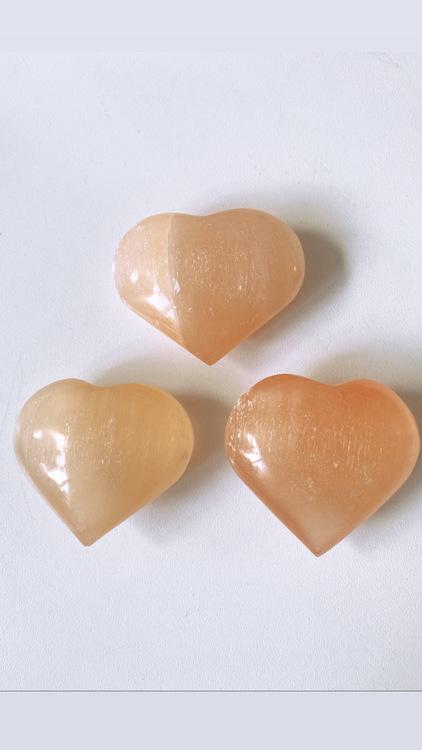 Orange Selenit, hjärta L