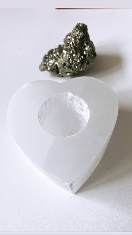 Selenit, lykta hjärta