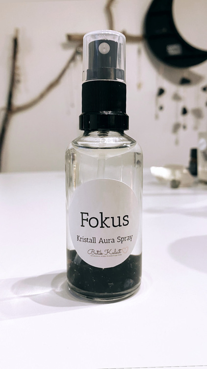 Kristall Aura Spray - Fokus