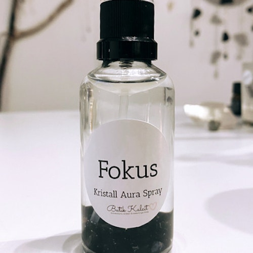 Kristall Aura Spray - Fokus