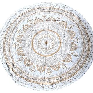 Passion Gold sarong/duk, rund