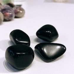 Apachetår (Obsidian), trumlad