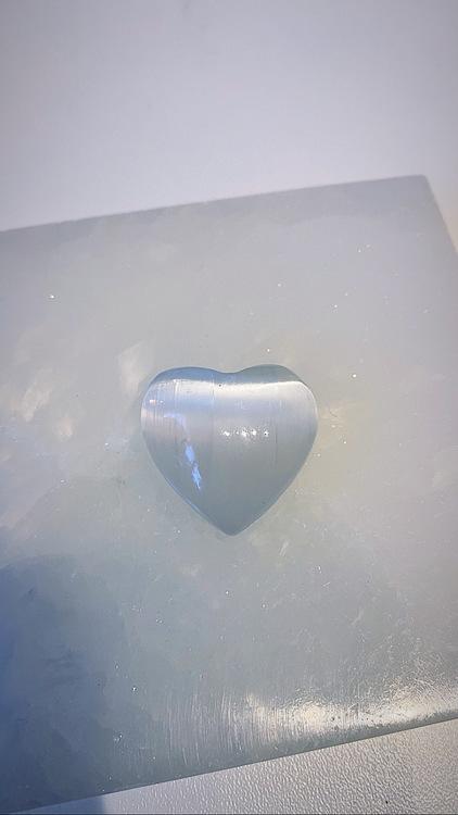 Selenit, hjärta