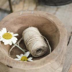 Träskål gjord i Indien