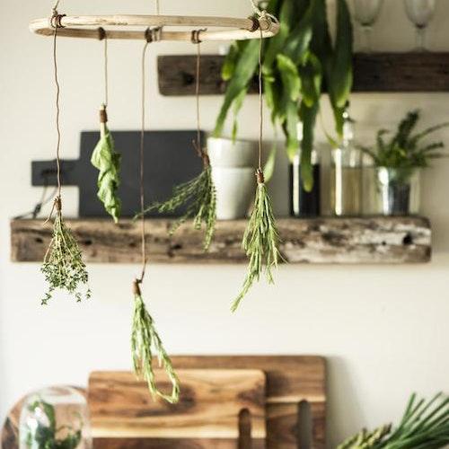 Ring i Bambu & jute - mobil för vackra ting