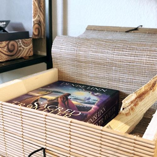 Förvaring för tex tarotkort, bambu