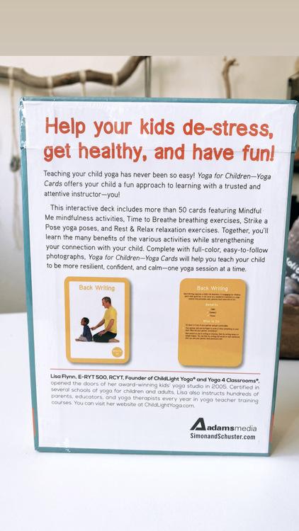 Children Yoga cards