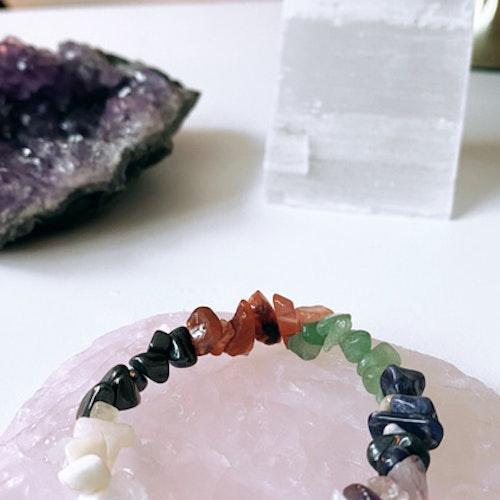 Chakra, kristallarmband