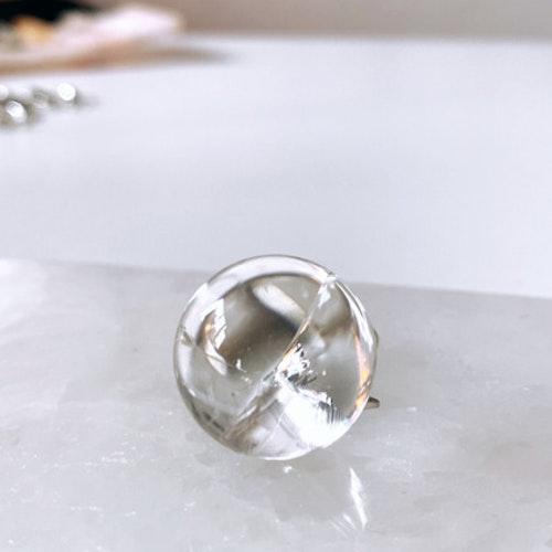 Fire & Ice klot small, bergkristall