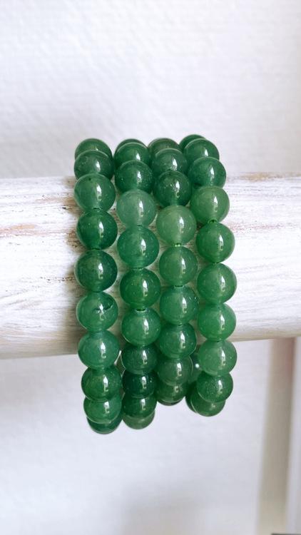 Grön aventurin, kristallarmband