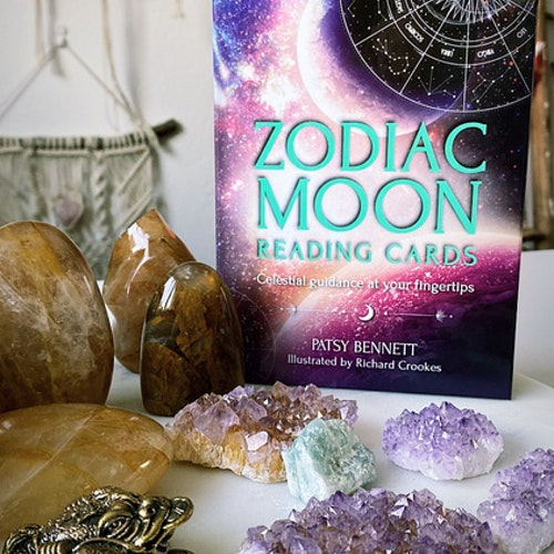 Zodiac Moon reading cards, orakelkort