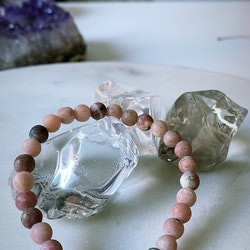 Månarmband Marble Jaspis