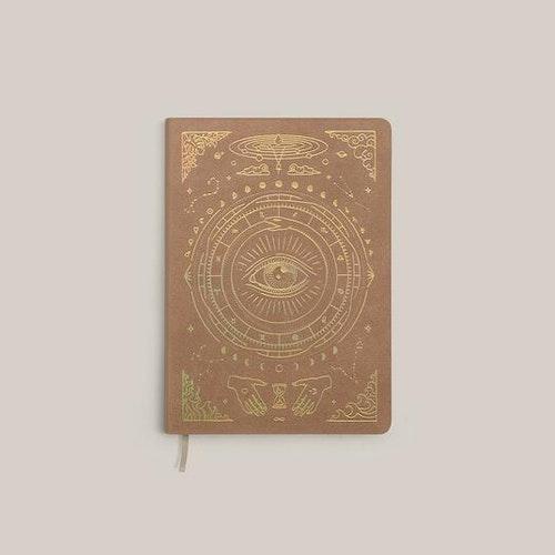 Magic of I pocket journal A6, Brun