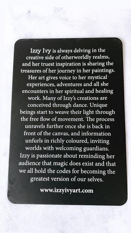 Beyond Lemuria, pocket edition (guidning bakom varje kort)