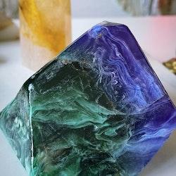 Kristalltvål - Azurit malakit