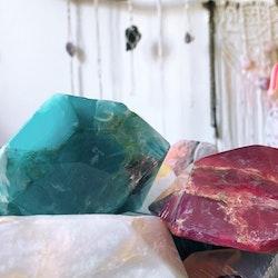 Kristalltvål - Vit opal