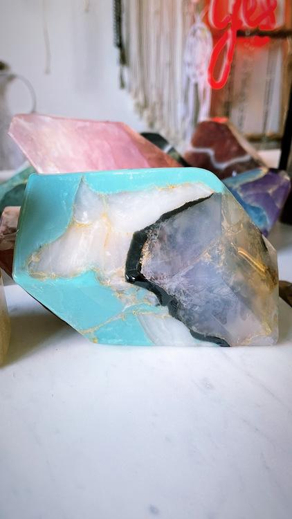 Kristalltvål - Turkos M