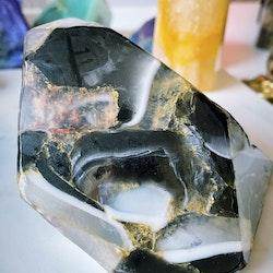 Kristalltvål - Svart Onyx L