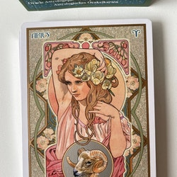 Astrological, oracle cards