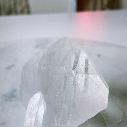 Bergkristall, kluster (E)