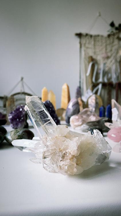 Colombian quartz, kluster B