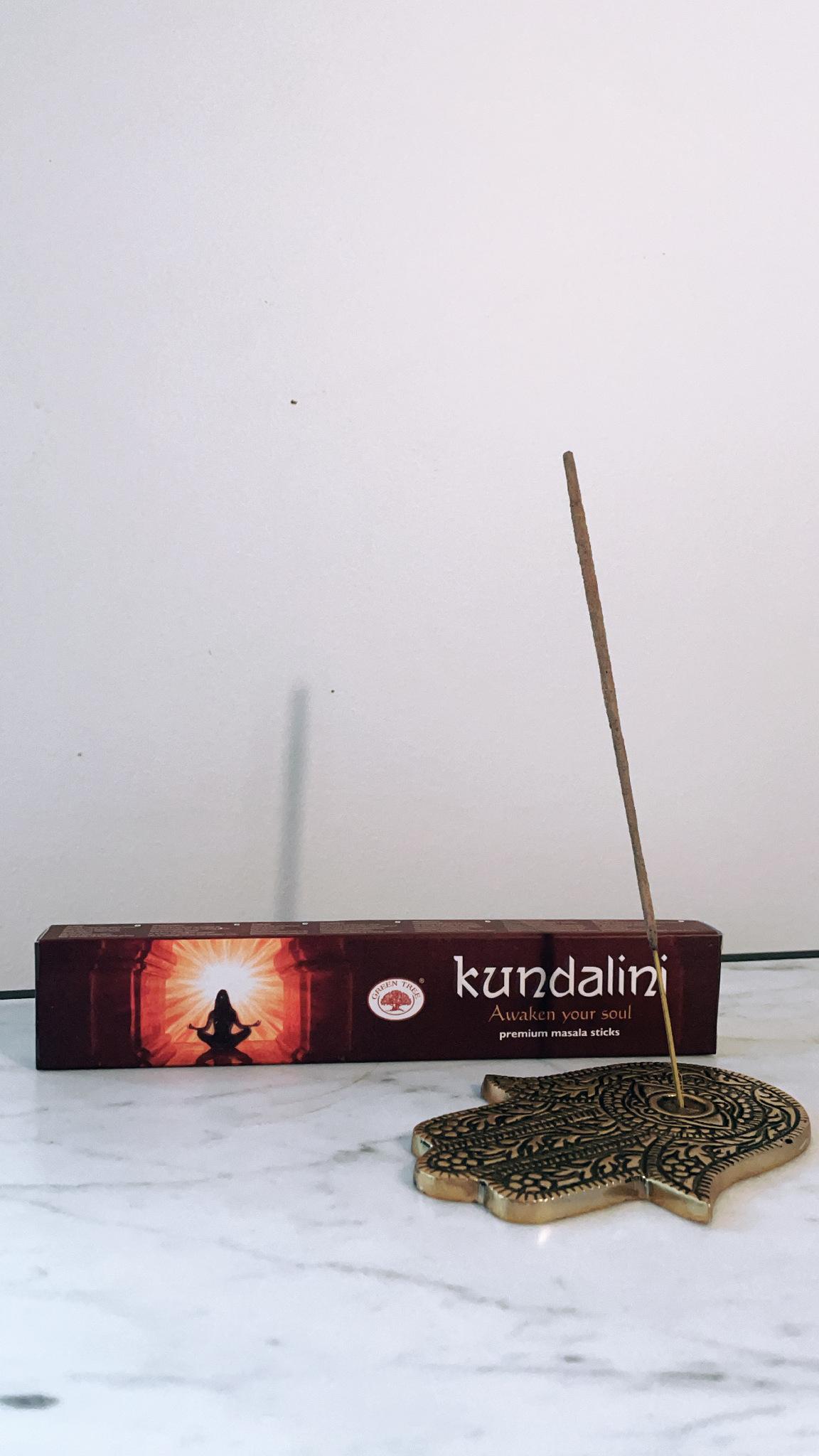 Rökelse, Kundalini