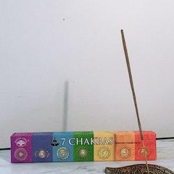 Rökelse, 7 chakras