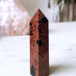 Mahognyobsidian, torn (B)