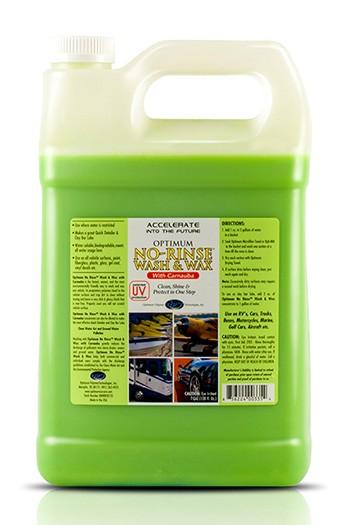 Optimum No rinse Wash & Wax
