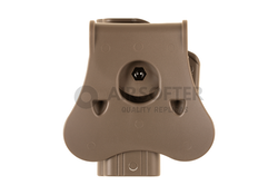 Paddle Holster for G19 / ICS BLE-XAE right Hand tan