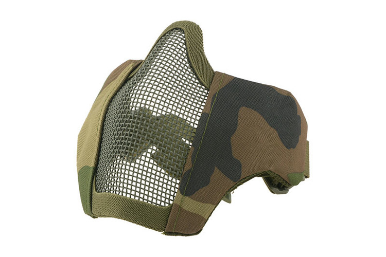 Stalker Evo Mask with Mount for FAST Helmets - Woodland