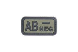 AB NEG - 3D Patch