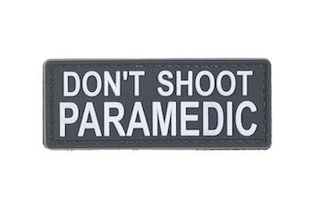 DON'T SHOOT PARAMEDIC - 3D Patch