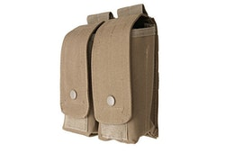 Double AK magazine pouch - tan