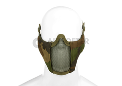 Mk.II Steel Half Face Mask Woodland