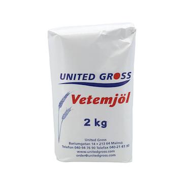 UNITED GROSS VETEMJÖL 2KG