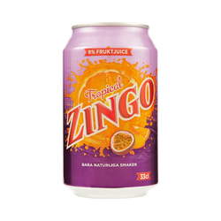 ZINGO TROPICAL BURK 33CL - Inkl. Pant