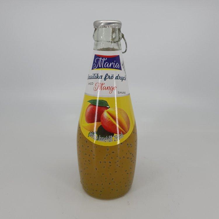 Maria Mango Juice med Basilikafrö 290ml