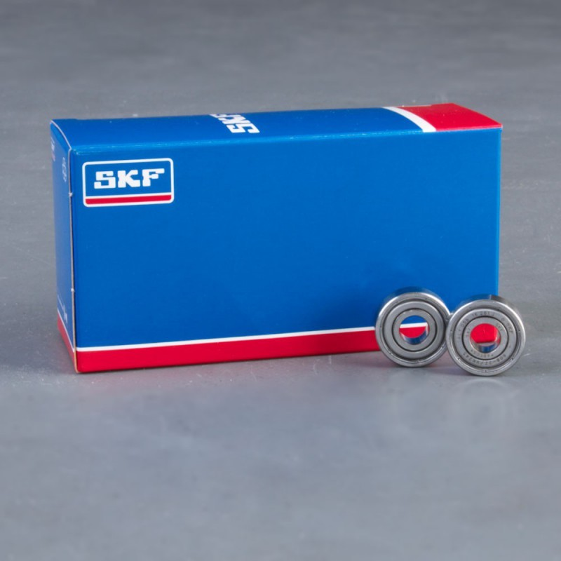 SKF Explorer kullager x 8 Skateboard kullager