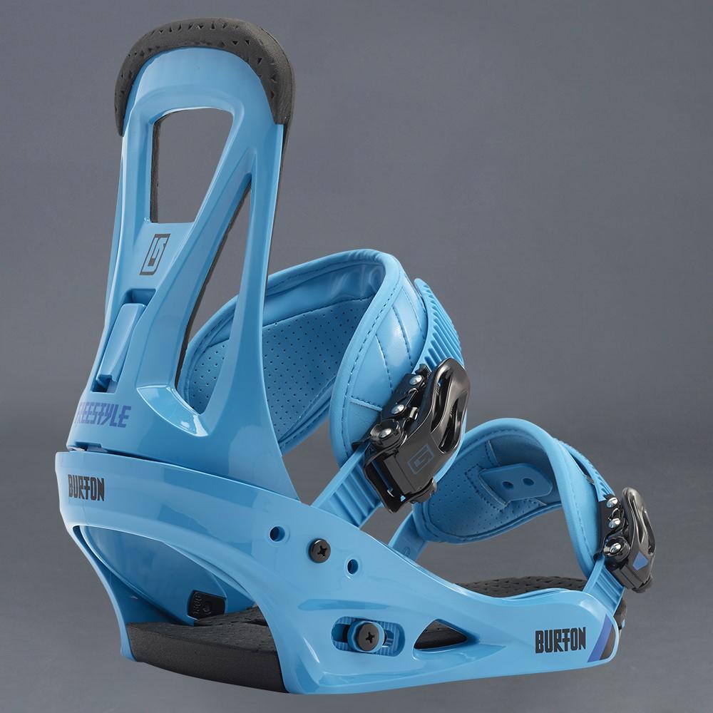 Burton snowboard bindningar Freestyle Blue L