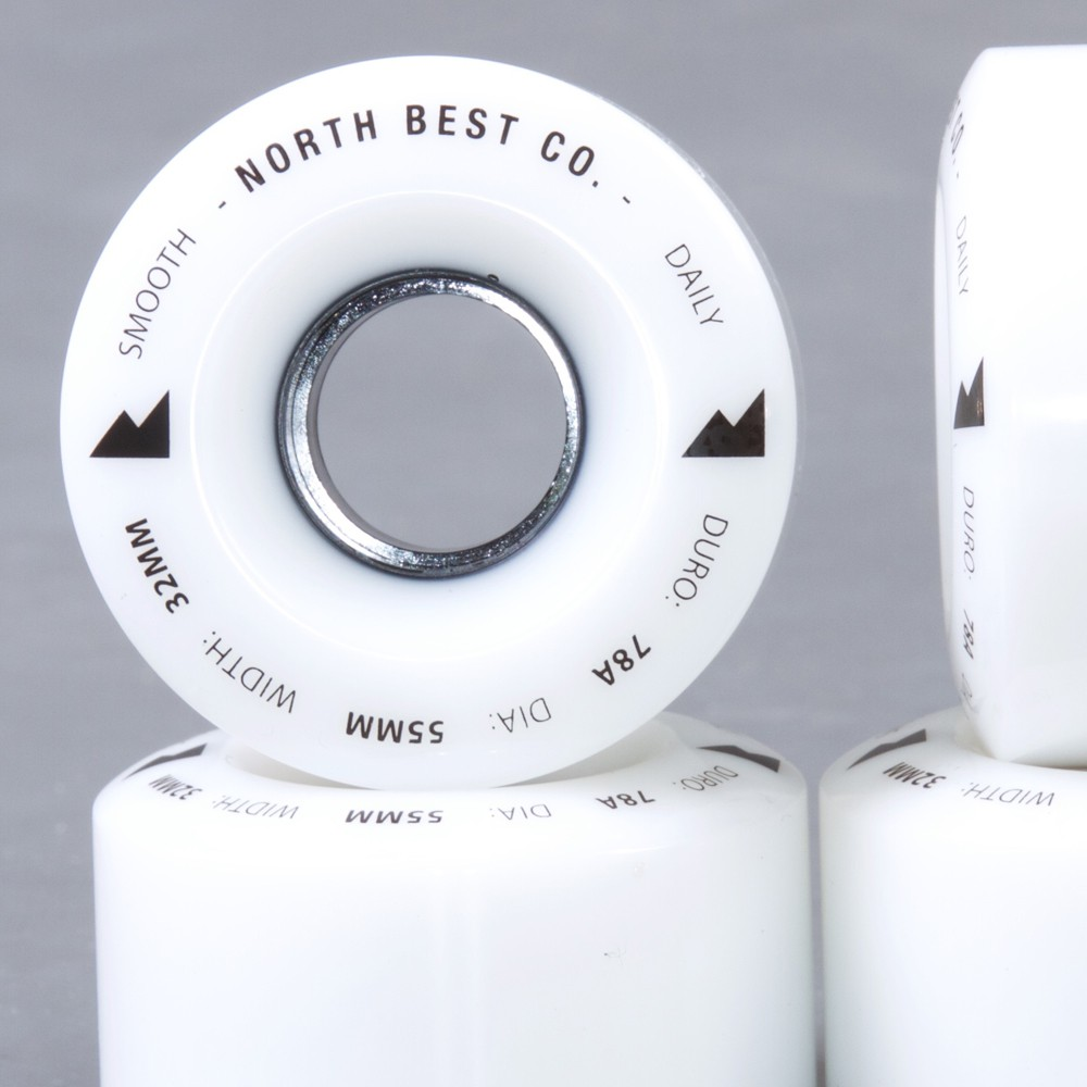 North Best co. Daily 55mm 78a skateboard hjul
