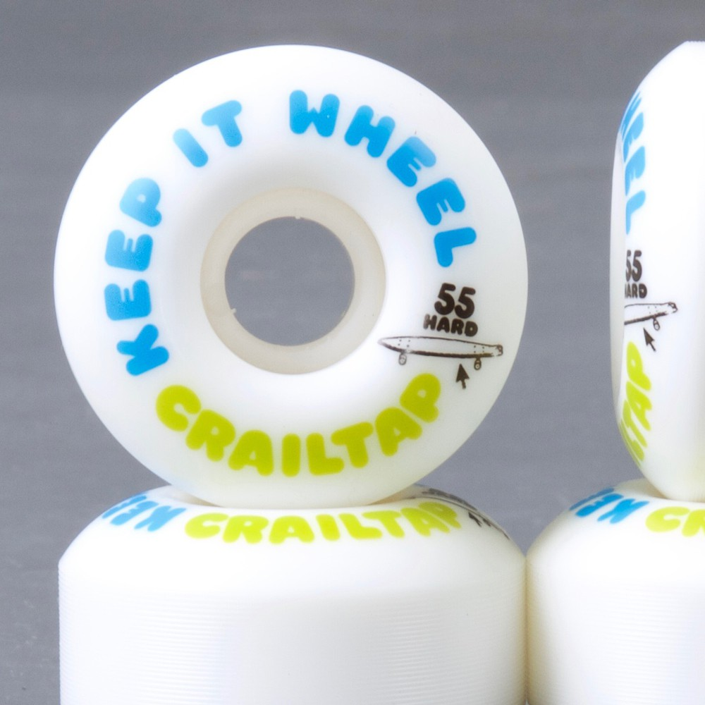 Girl Keep it Wheel Hard 55mm 101a skateboard hjul