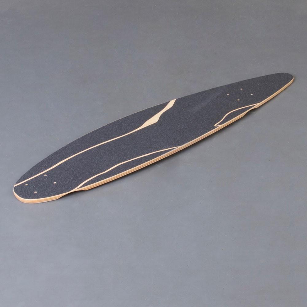 "NoBrand Pintail 37"" Longboard Deck"