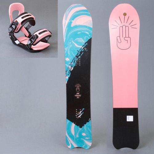 Bataleon snowboard paket Love Powder 153 + WMNS combo bindning