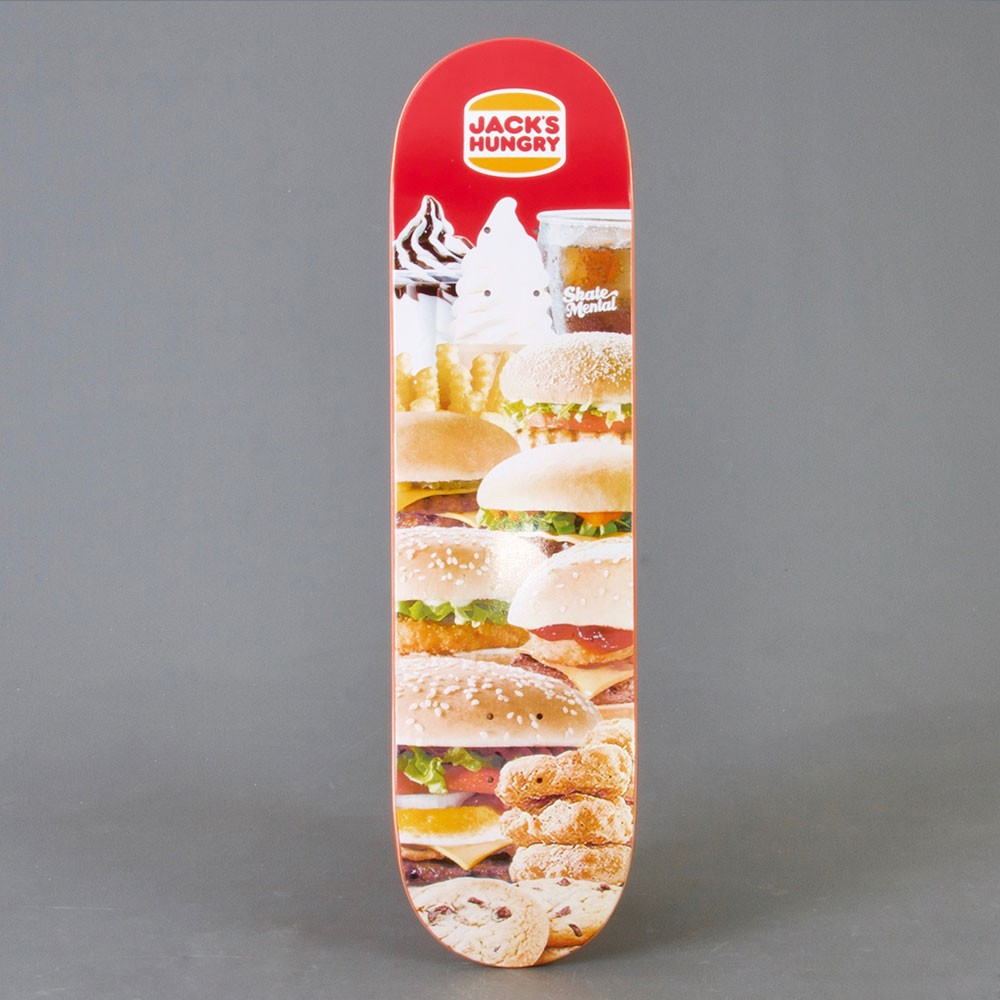 Skate Mental Curtin Jack's Hungry 8,25 skateboard deck