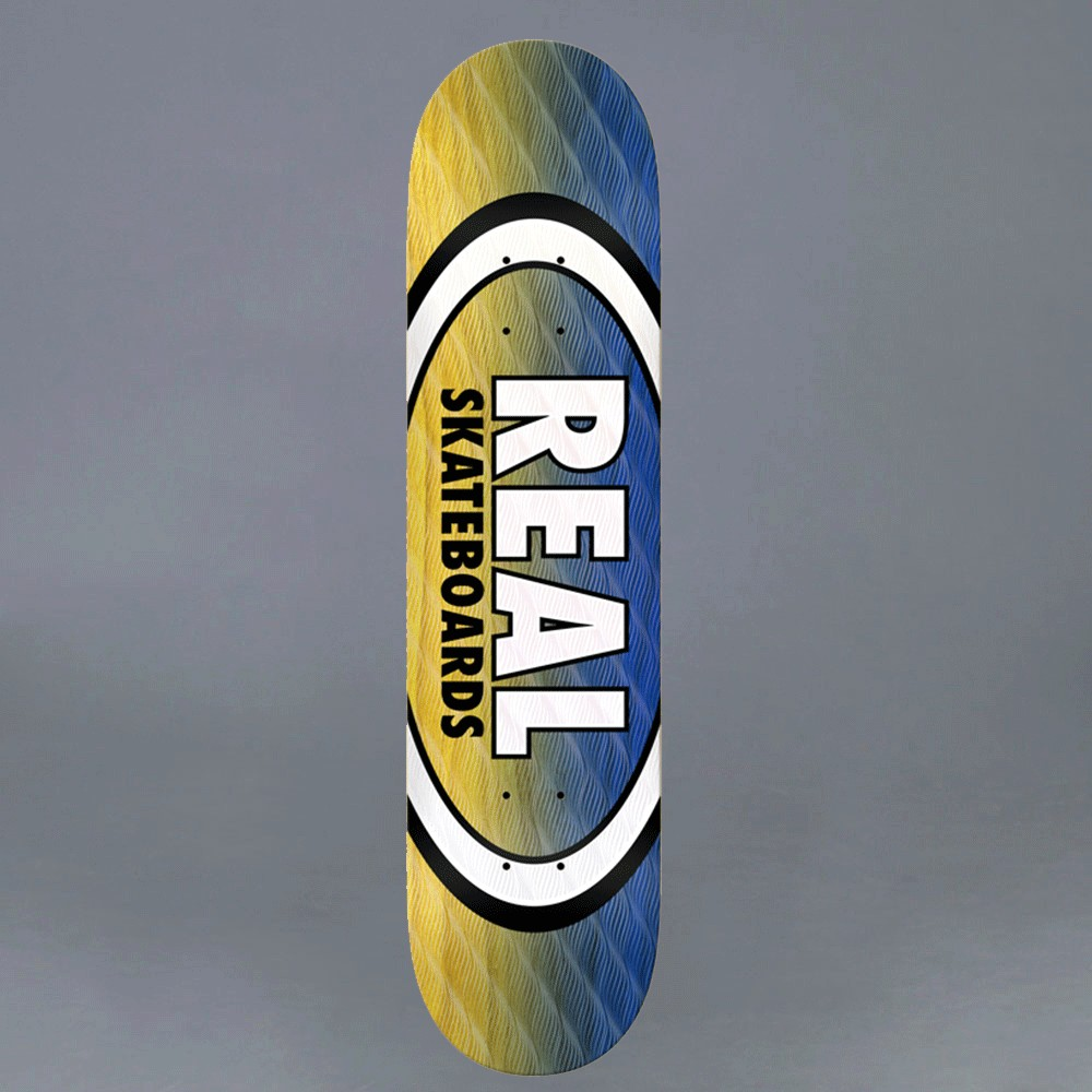 "Real PARALLEL FADE OVAL 8,06"" skateboard deck"