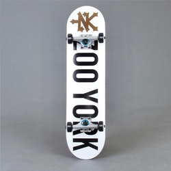"Zoo York White 7.75"" komplett skateboard"