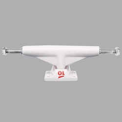 Tensor Alu Lo Tens Colored White-5.0 skateboard truck
